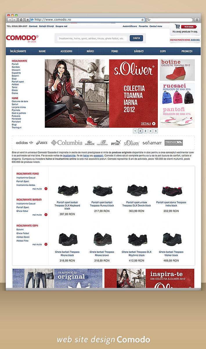 Magazin online - Comodo: Incaltaminte,haine,accesorii online.