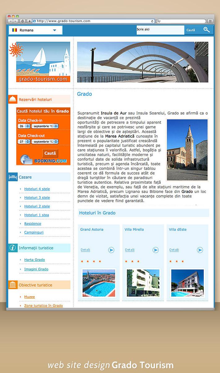 Ghid turistic online -portal web