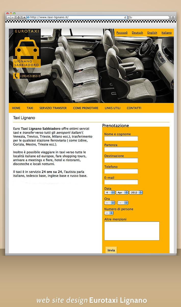 Branding Taxi Lignano